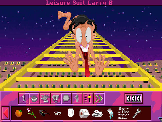 Leisure Suit Larry 6 Shape Up or Slip Out  90ların En İyi 20 Oyunu