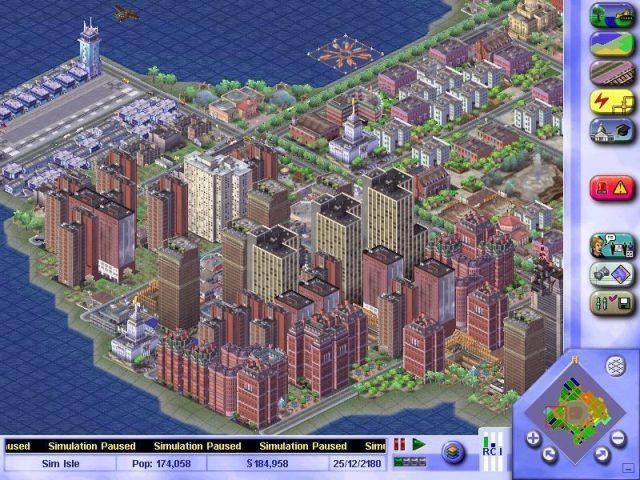 Sim City 3000 640x480   90ların En İyi 20 Oyunu