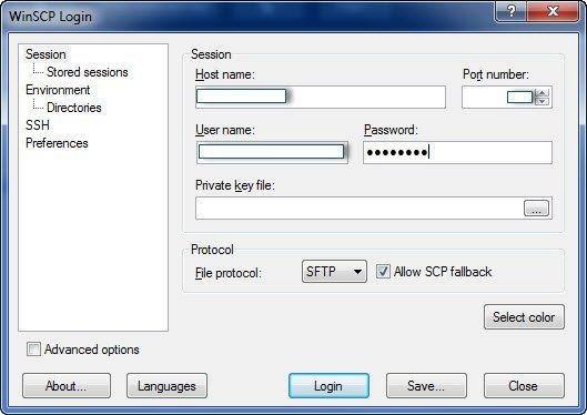 Winscp Kullanımı