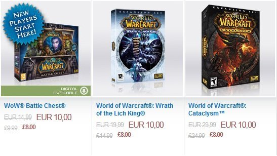 Blizzard dan world of warcraft a inanılmaz indirim