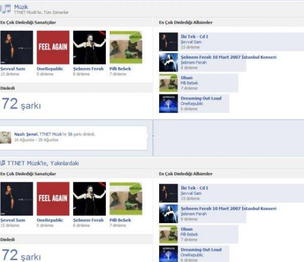 TTNET Muzik Facebook