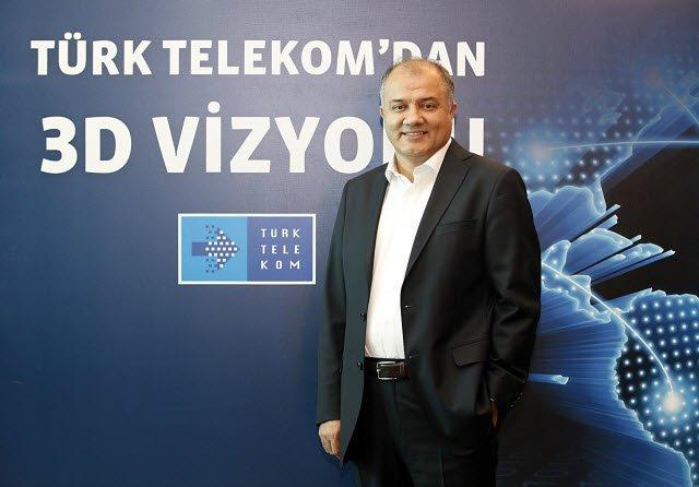 Türk Telekom Genel Müdürü Tahsin Yılmaz 3D Vizyon'u anlattı
