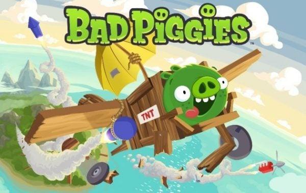 Angry Birds'ten tanıdığımız kötü domuzlar bu oyunun ana karakterleri.