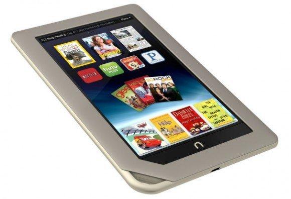 Nook Video uygulaması ile Tablet kullanıcıları bir çok ünlü firmanın filmlerini izleyebilecek.