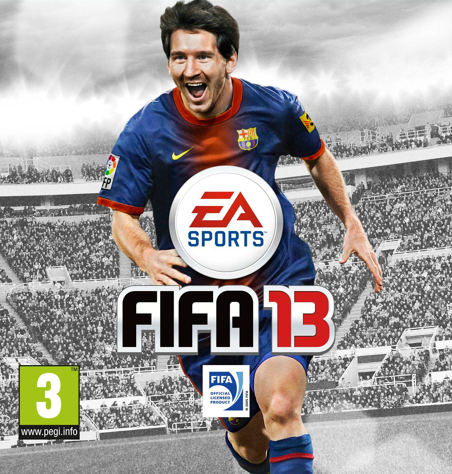 Fifa 13'ün bu seneki yüzü Lionel Messi