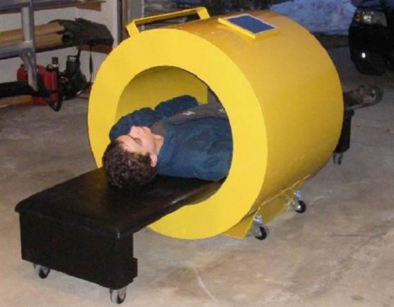 Daha ufak boyutlarda ki bir MRI Makinası uzaya gönderilebilir.