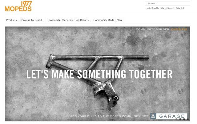 1977 Mopeds, Let's make something together sloganı ile takipçi toplamaya başladı.