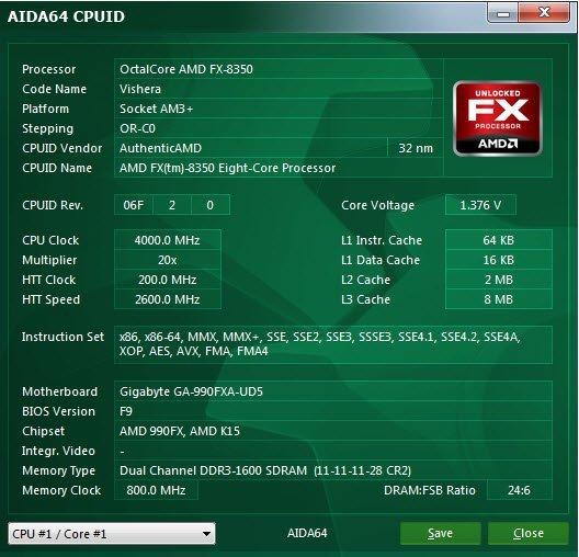 AIDA64'ün yeni sürümü AMD 8 Çekirdekli Vishera işlemcileri test etmenizi sağlıyor