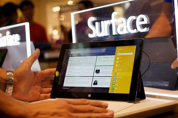 Surface tablet, Microsoft'a istediği pazar payını sağlayamamıştı.