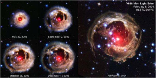 Nibiru gezegeni olarak yorumlanan fotoğraflar, NASA'nın daha önce çektiği Monocerotis adlı kırmızı güneşe ait.
