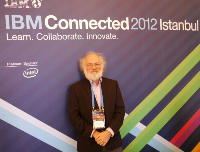 IBM'nin Connected 2012 İstanbul Konferansı'na konuşmacı olarak katılan Dr. John Cohn söyledikleriyle dikkat çekti.