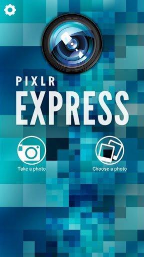 Pixlr Express'in tasarımı son derece çekici, kullanımı da keyifli