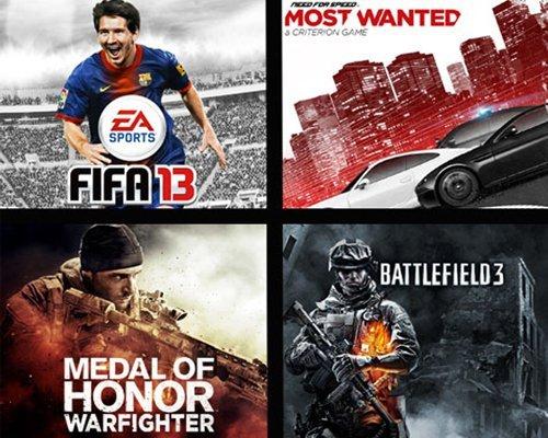 EA oyunları görsel