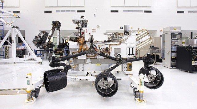 Curiosty'nin yedek parçalarından inşa edilen yeni gezgin için daha isim koyulmadı.