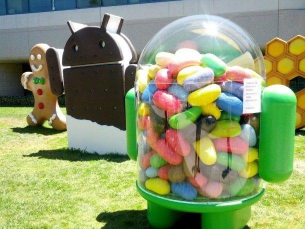 Android işletim sisteminin son sürümü Jelly Bean'e olan ilgi artıyor.
