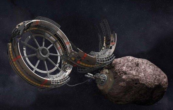 Deep Space Industries,  asteroid madenciliği için önemli bir adım atabilir.