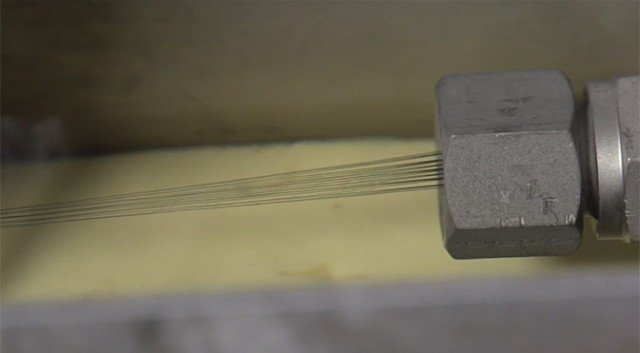 Karbon Nanotüp İplik, teknolojinin bütün alanlarında kullanılabilecek.