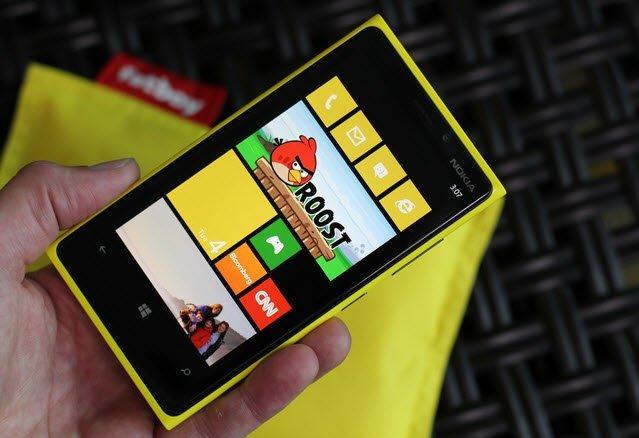 Nokia Lumia 920 Windows 8 Uygulamaları