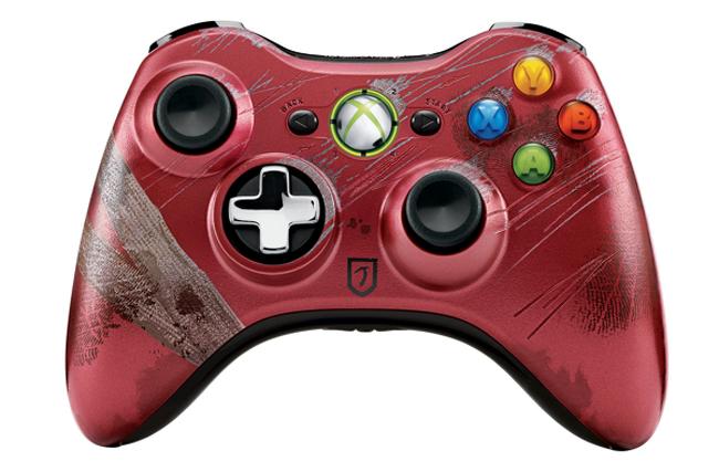 Serinin hayranlarına hitap eden Xbox kontrolün tasarımı oldukça başarılı.