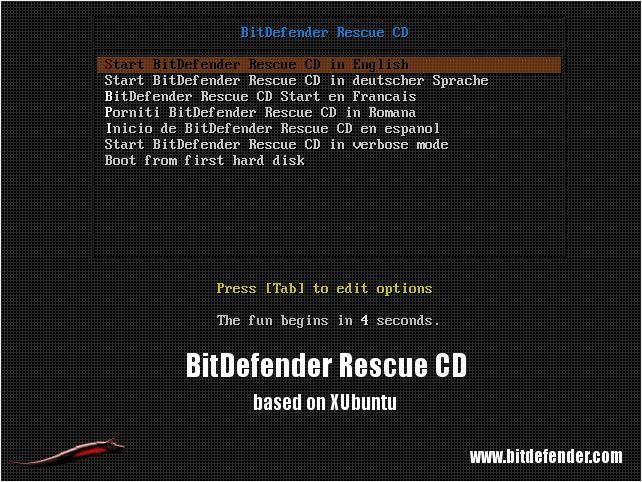 BitDefender Xubuntu