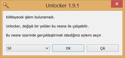 Unlocker Windows.old Silme