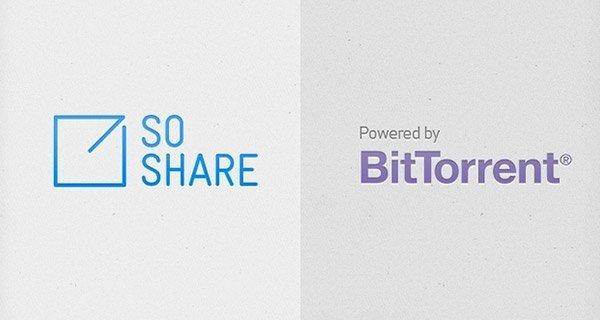 BitTorrent Labs, SoShare sayesinde büyük boyutlarda ücretsiz veri gönderimi sağlayacak.