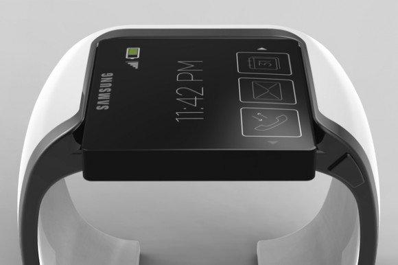 Samsung'un akıllı saatinin nasıl olacağına dair bir fan çalışması.