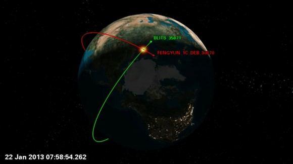 Yörünge üzerinde Çin uzay enkazı ve Rus uydusu çarpıştı.