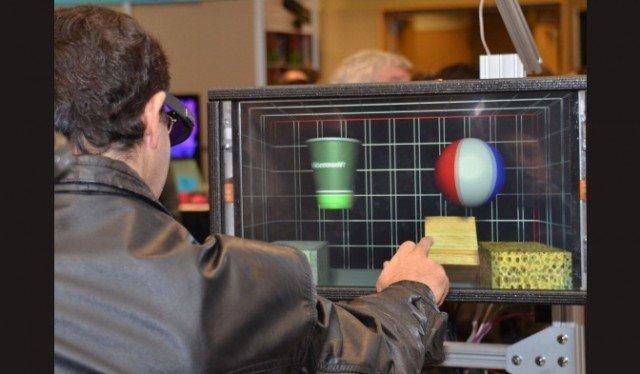 Microsoft 3D Dermal Dokunmatik Teknolojisi