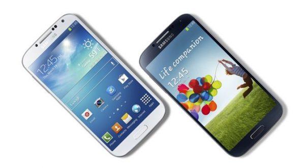 Samsung Galaxy S4 görücüye çıktı.