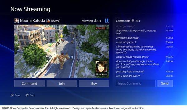 Sony PlayStation 4 kullanıcı arayüzü fotoğrafları