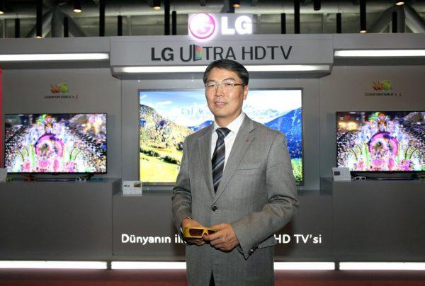 LG Electronics Türkiye Genel Müdürü Calvin Cho