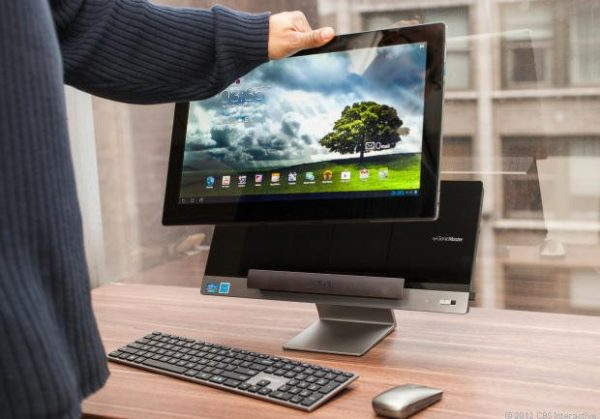 Asus Transformer AiO: Hem Windows PC, hem Android tablet
