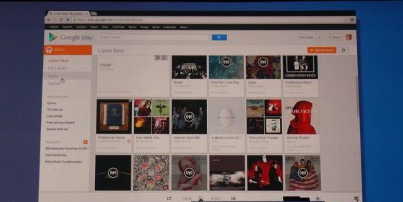 Google yeni uygulaması Google Play Music All Access tanıttı.