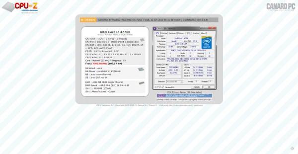 ASUS-ROG-Maximus-VI-Extreme-CPU-Z-7092.68MHz-Intel-Core-i7-4770K