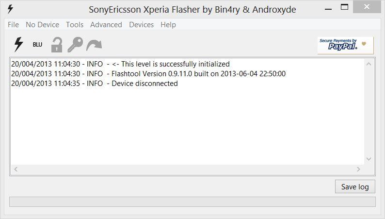 FlashTool Ekranı1