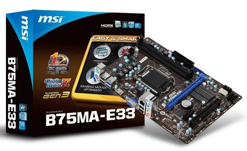 MSI B75MA-E33 (55)