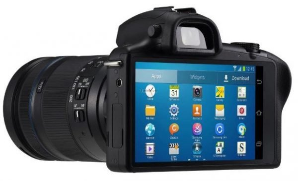 Samsung Galaxy NX aynasız kamera
