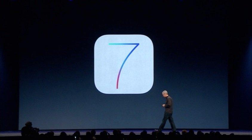 Tim Cook iOS 7