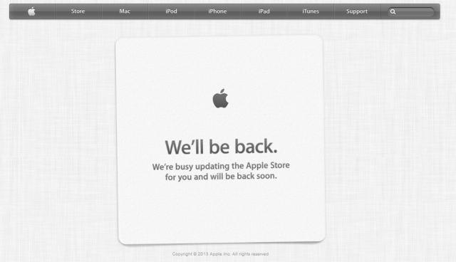 Apple Store, geliştirici konferansı öncesinde kapatıldı.