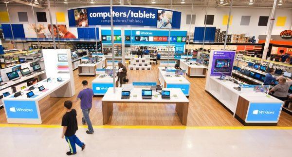 Microsoft, Best Buy içerisinde kendi alanlarını oluşturacak.