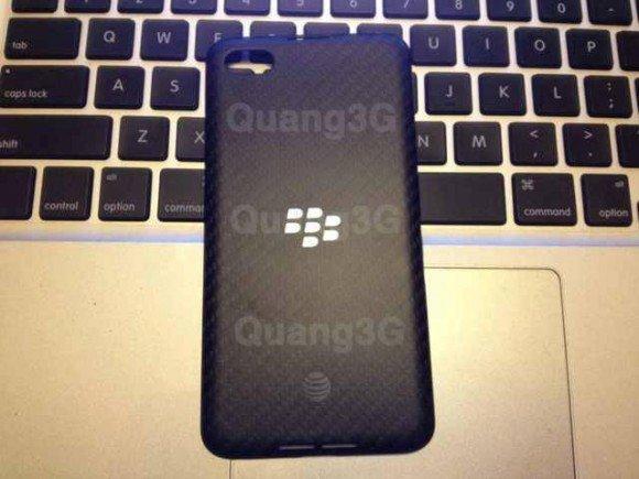 Quang 3G tarafından sızdırılan BlackBerry A10 görüntüsü.