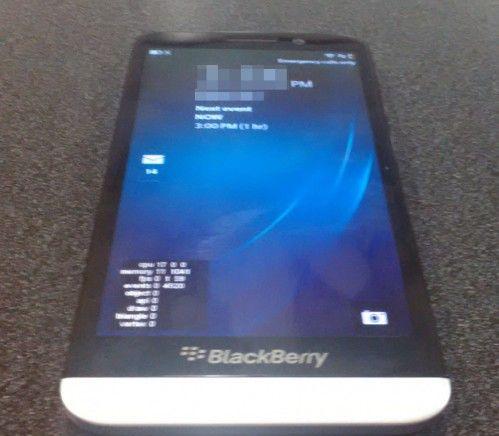 BlackBerry A10'un ilk görüntüleri ortaya çıktı!
