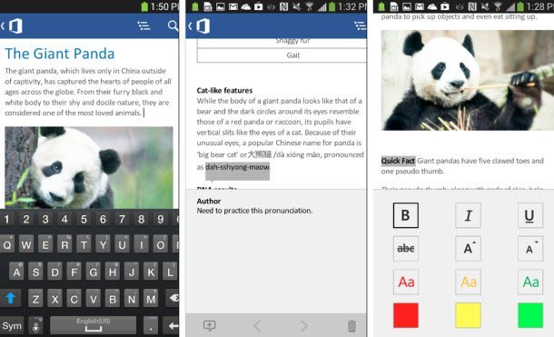 Resmi Microsoft Office Android Uygulaması Hazır