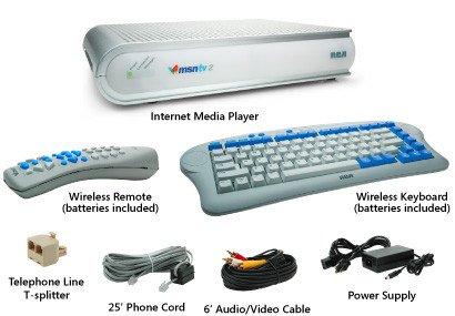 MSN TV donanım seti