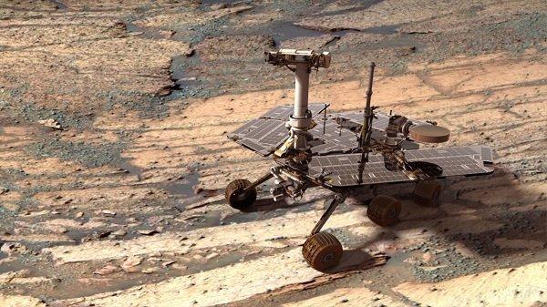 Opportunity emin adımlarla Mars'tan bilgi toplamaya devam ediyor.
