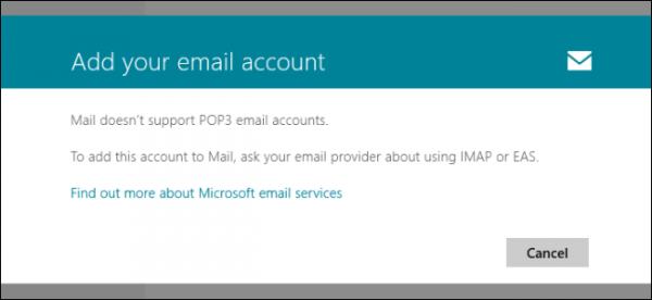 pop3mail-erişim