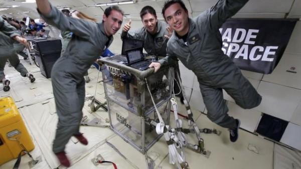 Made in Space tarafından geliştirilen 3D Yazıcı'nın testleri devam ediyor.