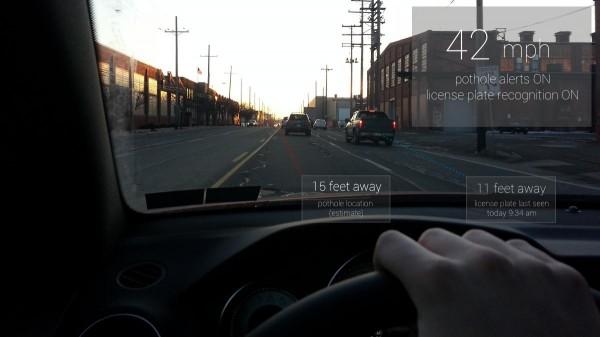 Birleşik Krallık sınırları içerisinde sürüş yaparken Google Glass kullanılamayabilir.