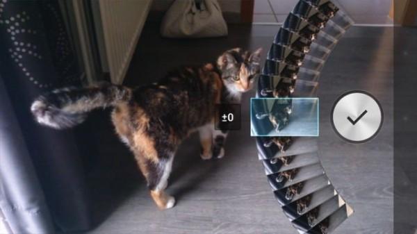 Xperia Honami Kamera'daki Ar-effect özelliği.